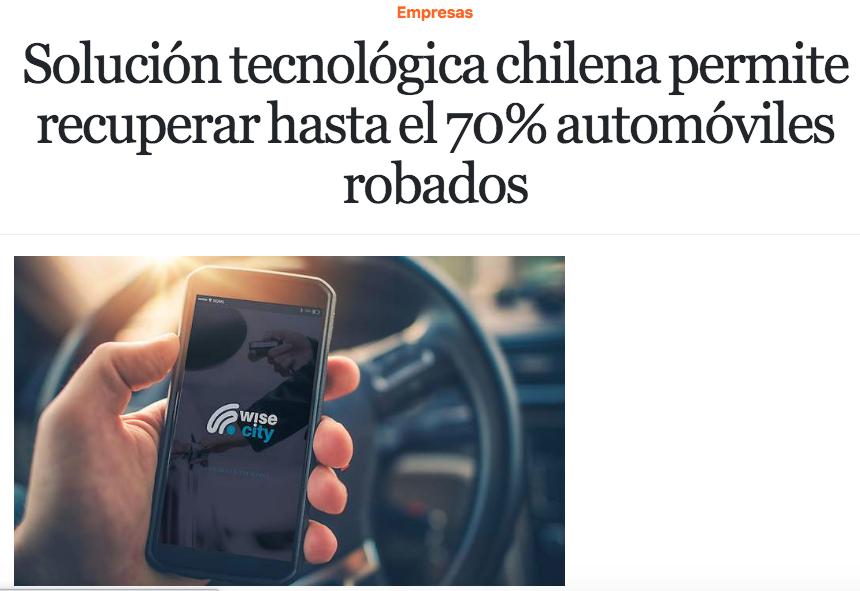Portonazo: Solución tecnológica chilena permite recuperar hasta el 70% automóviles robados