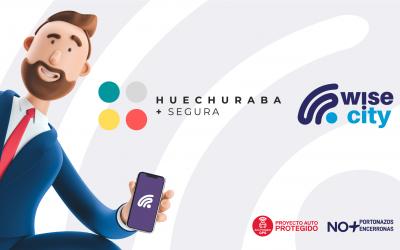 Huechuraba se unió a Wisecity para combatir la delincuencia